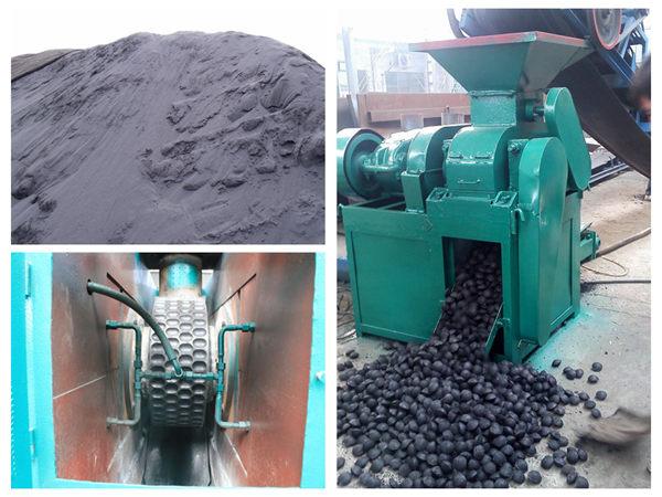 Chromium ore powder briquetting machine