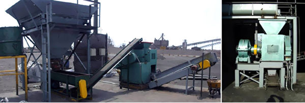High Pressure Briquette Press Machine