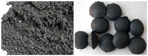 Sludge and Sludge Briquettes